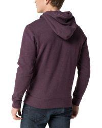 Tommy Hilfiger - Purple Hilfiger Hooded Knit for Men - Lyst
