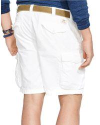 Polo Ralph Lauren   White Classic-Fit Commander Cargo Shorts for Men   Lyst