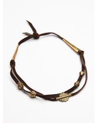 Free People | Brown Womens Kristel High Lo Collar | Lyst