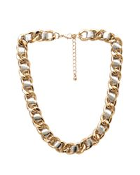 Forever 21 - Metallic Mixed Metal Chain Necklace - Lyst