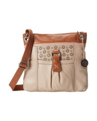 The Sak | Natural Kendra Leather Crossbody | Lyst