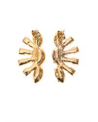 Lulu Frost - Metallic Minuet Stud Earrings - Lyst