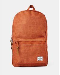 Herschel Supply Co. - Supply Co. Settlement Backpack - Orange for Men - Lyst