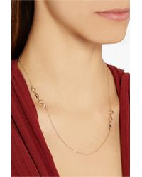 Melissa Joy Manning - Metallic 24-karat Gold Herkimer Diamond Necklace - Lyst