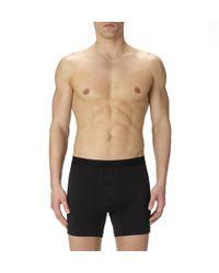 Sunspel | Black Men's Superfine Cotton Two-button Short for Men | Lyst