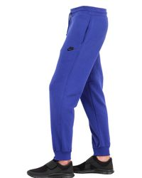 Nike | Blue Cotton Tracksuit With Logo Detail for Men | Lyst