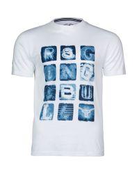 Raging Bull - White Neon Lights Print T/shirt for Men - Lyst