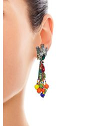 Stella Jean | Multicolor Visone Parrot Earrings | Lyst
