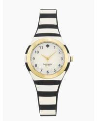 Kate Spade | Black Stripe Rumsey Watch | Lyst