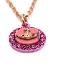 Vivienne Westwood | Pink 'giselle' Pendant Necklace | Lyst