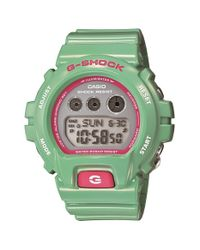 G-Shock - Green Digital Watch - Lyst