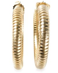 Janis Savitt | Metallic 'cobra' Earrings | Lyst