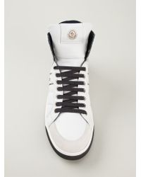 Moncler - White New Lyon Sneakers for Men - Lyst