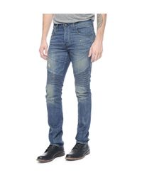 True Religion | Blue Rocco Relaxed Skinny for Men | Lyst