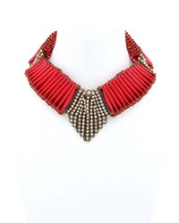 Sveva Collection | Red Margot Necklace | Lyst