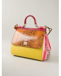 Dolce & Gabbana - Multicolor 'Sicily' Tote - Lyst