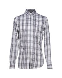 Paolo Pecora | Gray Shirt for Men | Lyst