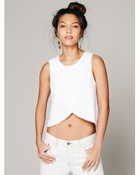 Free People | White We The Free Womens We The Free Bungalow Tank | Lyst