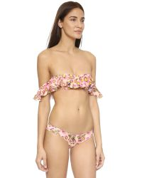 Tori Praver Swimwear - Pink Tulum Bikini Top - Lyst