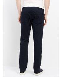 Vince | Blue Essential 5-pocket Soho Trouser for Men | Lyst