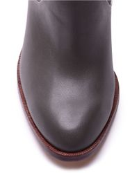 Splendid   Gray Sullie Suede & Leather Boots   Lyst