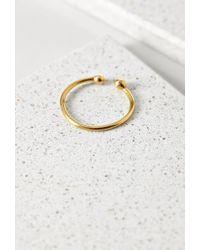 Forever 21 | Metallic Soko Bull Ring | Lyst