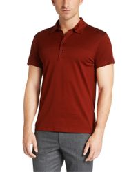 BOSS Red Regular-fit Polo Shirt In Mercerised Cotton: 'treviso 16' for men