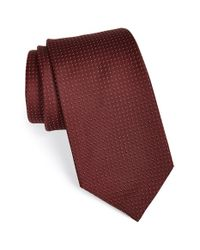 Michael Kors | Purple Woven Silk Tie for Men | Lyst
