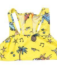 Stella McCartney - Multicolor Koko Beach Print Swimwear - Lyst