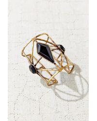 Urban Outfitters - Black Kari Cuff Bracelet - Lyst