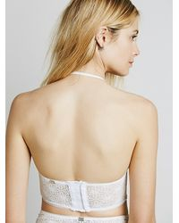 Free People - Natural Wanted And Wild Bustier - Lyst