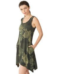 Alternative Apparel - Green Laguna Printed Dress - Lyst