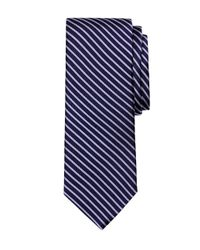 Brooks Brothers - Blue Twin Stripe Tie for Men - Lyst