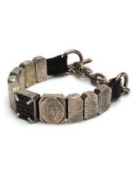 Tobias Wistisen | Metallic Large Beads Bracelet for Men | Lyst