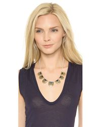 Madewell - Metallic Enamel Inlay Necklace Midnight Sky - Lyst