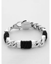 DIESEL - Metallic Bracelet for Men - Lyst