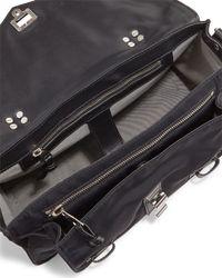 Proenza Schouler - Black Ps1 Medium Nylon Crossbody Bag - Lyst