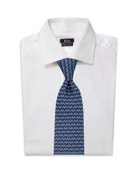 Ferragamo   Blue Silk Whale Tie for Men   Lyst