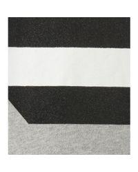 McQ - Gray Cotton Sweater - Lyst