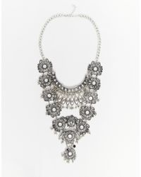 Ashiana | Metallic Statement Necklace | Lyst