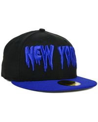 KTZ | Black New York Mets Team Trill 59fifty Cap for Men | Lyst