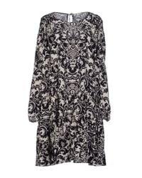 MASSCOB - Black Short Dress - Lyst