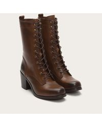 Frye | Brown Kendall Lace Up | Lyst