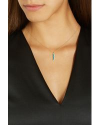 Jennifer Meyer | Metallic 18-Karat Gold, Opal And Diamond Necklace | Lyst
