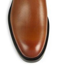 Ferragamo - Brown Poem Chelsea Boots for Men - Lyst