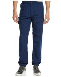 Sean John | Blue Cargo Pants for Men | Lyst