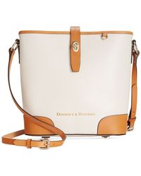 Dooney & Bourke - Brown Claremont Crossbody Bucket - Lyst