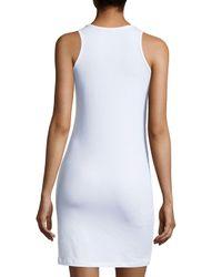 Anatomie - White Alina Jersey Tank Dress - Lyst