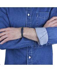 JvdF | Black Id Navy And Grey Bracelet | Lyst