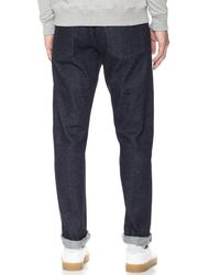 Maison Kitsuné - Blue Slim Fit Jeans for Men - Lyst